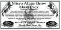 Micro Algae Grow Mass Pack