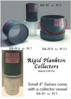 Rigid Plankton Collectors