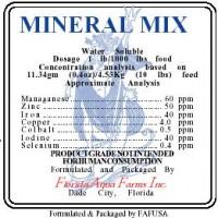 Mineral Premix